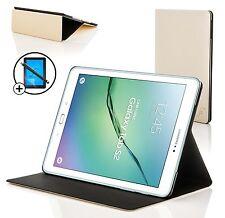 Blanco de concha de almeja Smart Funda Protectora Samsung Galaxy Tab S2 9.7 Pantalla Prot Stylus