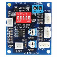 DC 12v PWM PC CPU Fan Temperature Control Speed Controller Board 5*4.3cm