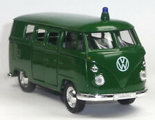 VW Bus (1962) Bulli T1 Polizei Einsatzfahrzeug Modellauto 1:37 Metall von WELLY