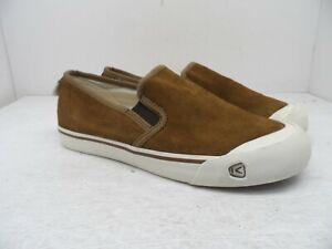 Keen Men's Coronado III Slip On Suede Casual Shoe Brown 9M