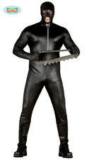 Adult Mens Halloween Stag Do Costume Gimp Rubber Effect Suit ~ Large