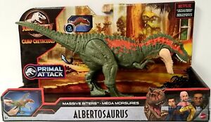 Jurassic World ALBERTOSAURUS Massive Biters Figure Camp Cretaceous Netflix 13""
