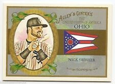 2008 TOPPS ALLEN & GINTER UNITED STATES Nick Swisher #US35
