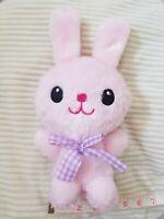 "8"" Pink Cute Bunny Rabbit Stuffed Animal Baby Toy Soft Plush Infant Room Decor"