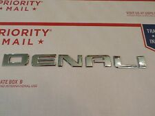 "Sierra Denali '14-2015 (Denali wording) ONE- door ""EMBLEM"""