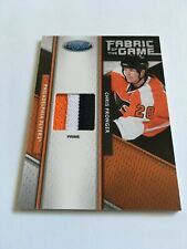 2011-12 Panini Certified Chris Pronger /25 Prime Patch Fabric of the Game Flyers