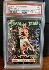 1992-93 Stadium Club Members Only Beam Team Mark Price #13 PSA 9 Mint