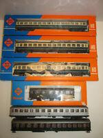 Konvolut 6 Spur H0 Roco Eisenbahn Personenwagen 4279 4281 4214B OVP