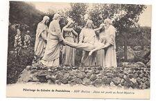 pélerinage du calvaire de pontchâteau  jésus est porté au saint-sépulcre