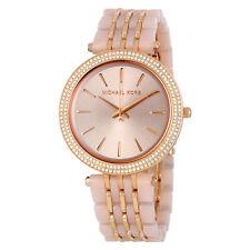 06a3799d288d Michael Kors Darci Blush Acetate Rose Gold Dial Women s Bracelet Watch  MK4327
