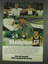 1978 U.S. Army Ad - Discipline