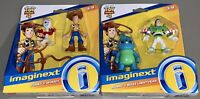 *BRAND NEW* Lot of 2 Fisher Price Imaginext Toy Story 4 Figure Packs Forky Buzz