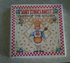"""Mary Engelbreit Hard Cover Cook Book """"Queen of the Kitchen"""" 1998"""