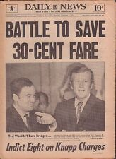 Daily News November 4 1971 Battle to Save 30-Cent Fare 010917DBE