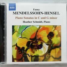 Mendelssohn-Hensel: Piano Sonatas / Heather Schmidt / Naxos CD 8.570825
