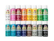 2oz Apple Barrel Acrylic Paints Set (GLOSS) **Assorted Colors**