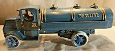 Vintage 1920's Antique Large Size Arcade Cast Iron Mack C Gasoline Truck