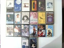 Job Lot Vintage Audio Cassettes x20 Pop Rock Blues Funk Demo Tapes