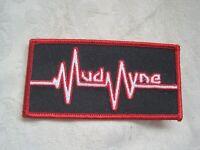 NEW Embroided Fabric MUDVAYNE PATCH LOGO Iron Stitch On ROCK Music Merch P-613