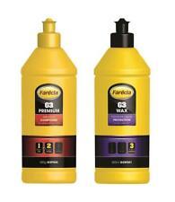 Farecla 500g G3 Premium Abrasive Compound + 500ml G3 Wax Liquid Protection