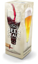 New Beer Deaux The Long Neck Wine Beer Glass Genuine Fred Gift Mens Dads Father