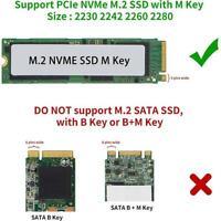 M.2 NVME SSD zu USB 3.1 Adapter PCI-E zu USB-A 3.0 Intern Konverter Karte