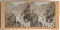 Santo - Salvare Pris Del Rocher Foto J.Andrieu Stereo Vintage Albumina c1868