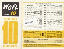 WCFL Chicago Top 40 Radio Music Survey 7-28-66