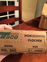 "Taco Horizontal Flochek #241 1"" sweat"