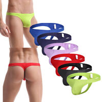 LOT Men's Sexy Modal G-strings Lingerie Underwear Briefs Thongs Underpants S-XL