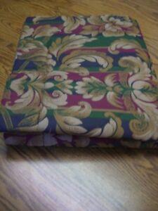 "J C Penney Multi-color Poly/Cotton Blend Quilted Standard Pillow Sham/32"" x 26"""
