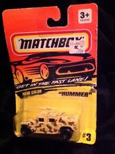 Matchbox 1994 Hummer #3 Toy Car Collectable New