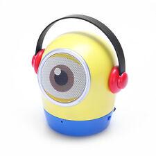 Minion Bluetooth Speaker,Powerful Mini Wireless Speaker with Mic/ TF card,usb