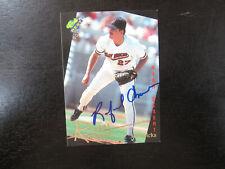1993 Classic # 56 Rafael Chaves Autograph Signed Card (B) High Desert Mavericks
