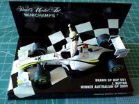 Jenson BUTTON - MINICHAMPS 400090122 - BRAWN - BGP 001 - Winner Australian