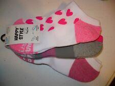 Happy Style Socks Sport Low Cut Socks 3 Pair Shoe Size 5.5-9.5 NEW #33