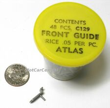 1pc 1960s Vintage ATLAS USA HO Slot Car Hop Up Parts Gray FRONT GUIDE PIN Unused