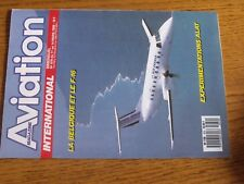 $$$ Revue Aviatiopn International N°979 Belgique F-16Experimentations ALAT