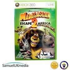 Madagascar: ESCAPE 2 Africa (Xbox 360) ** en un caso totalmente nuevo **