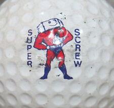 (1) SUPER SCREW VINTAGE LOGO GOLF BALL VINTAGE