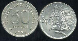 INDONESIA  INDONESIE  50  rupiah   1971   ( etat )