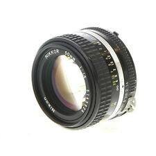 Nikon Nikkor 50mm F/1.4 AIS Manual Focus StandsLens {52} - UG