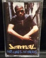 Jamal - Last Chance No Breaks Rowdy Records Cassette Tape Hip Hop Rap rare