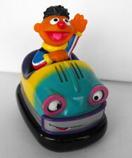 RARE Sesame Street  Ernie in Bumper Car - Moves - talks and waving 2002 MATTEL