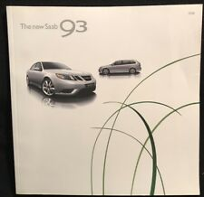 SAAB 2008 9-3 and Aero 66-page Original Car Sales Brochure Catalog