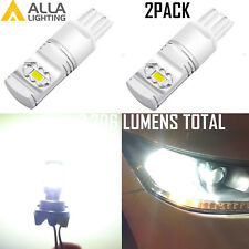 Alla Bright Shinning LED White 7441 Back Up Light Bulb Reverse Lamp,Safety First