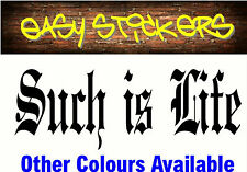 300mm Such is Life Ned Kelly Car Ute Sticker Aussie Windscreen Decal Country