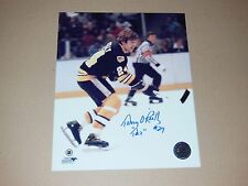 Terry O'Reilly Autographed 8x10 Photo Pose 2
