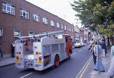 1979 Bedford Fire Engine/Truck  - Original 35mm Slide