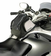 Can-Am Spyder RS GS TOURING TANK BAG Warranty & Rain Cover included Black & Grey